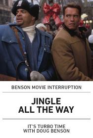 Poster: JINGLE ALL THE WAY BENSON