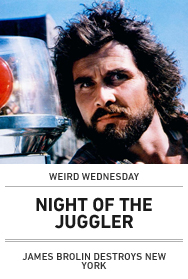 Poster: NIGHT OF THE JUGGLER