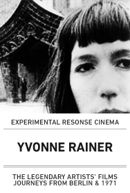 Poster: YVONNE RAINER