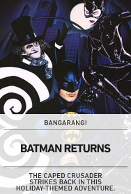 Poster: Batman Returns (non-Bangarang)