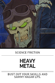 Poster: HEAVY METAL Science Friction