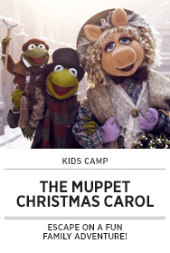 Poster: Kids Camp MUPPET CHRISTMAS CAROL - 2014 upload