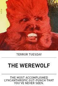 Poster: THE WEREWOLF