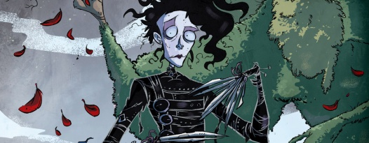 See EDWARD SCISSORHANDS and receive a free comic book, Skype Q&A with the comic creators