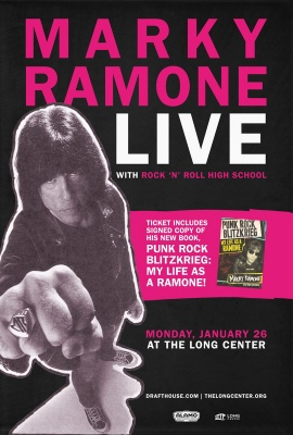 Rock 'n' Roll High School with Marky Ramone Live in Person