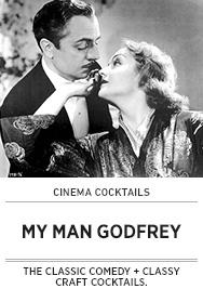 Poster: Cinema Cocktails MY MAN GODFREY - 2014 upload