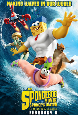 2D THE SPONGEBOB MOVIE: SPONGE OUT OF WATER