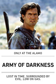 Poster: ARMY OF DARKNESS (NY)