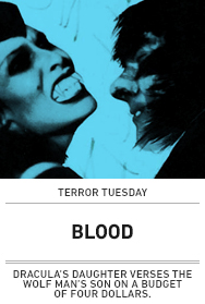 Poster: BLOOD