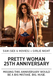 Poster: Girlie Night PRETTY WOMAN - 2015 upload