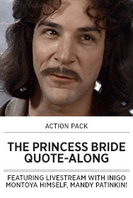 Poster: THE PRINCESS BRIDE QAL - 2015 upload