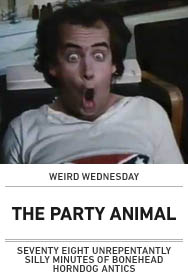 Poster: THE PARTY ANIMAL