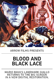Poster: Blood and Black Lace