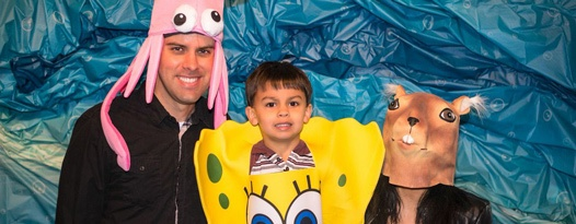 Absorbent and Yellow and Porous are We! The Spongebob Beach Party!