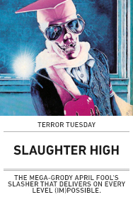 Poster: SLAUGHTER HIGH