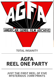 Poster: AGFA REEL ONE PARTY