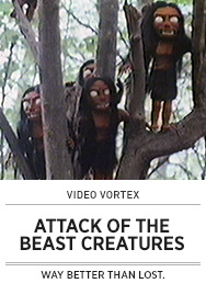 Poster: Video Vortex ATTACK OF THE BEAST CREATURES - 2015 upload