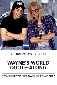 Poster: WAYNE'S WORLD QAL - 2015 upload