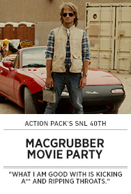 Poster: MACGRUBER Movie Party - 2015 upload