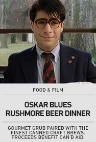 Poster: RUSHMORE Beer Dinner - 2015 upload