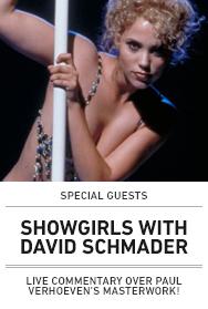 Poster: SHOWGIRLS w/David Schmader - 2015 upload