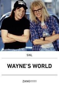 Poster: WAYNE'S WORLD straight