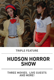Poster: Hudson Horror Show March