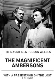 Poster: MAGNIFICENT AMBERSONS