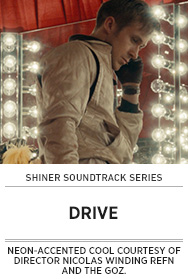 Poster: Shiner Soundtrack Series DRIVE - 2015 upload