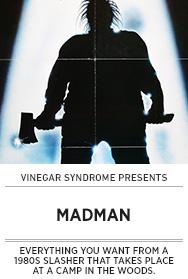Poster: Vinegar Syndrome MADMAN - 2015 upload