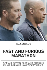 Poster: Fast and Furious Marathon (New)
