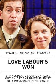 Poster: Love Labour's Won