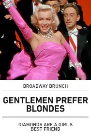 Poster: GENTLEMEN PREFER BLONDES (Broadway Brunch 15)