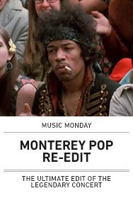 Poster: Monterey Pop Re-Edit