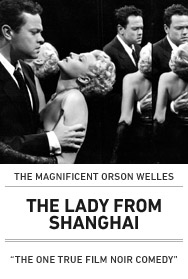 Poster: THE LADY FROM SHANGHAI
