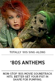 Poster: '80s Movie Anthem Sing-along - 2015 upload