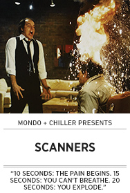 Poster: Mondo x Chiller SCANNERS - 2015 upload