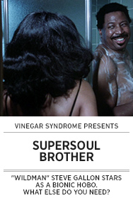 Poster: Vinegar Syndrome SUPERSOUL BROTHER - 2015 upload