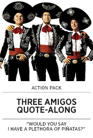 Poster: THREE AMIGOS QAL - 2015 upload