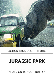 Poster: JURASSIC PARK Quote-Along - 2015 upload