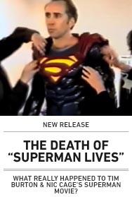 Poster: DEATH OF SUPERMAN LIVES