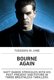 Poster: BOURNE AGAIN