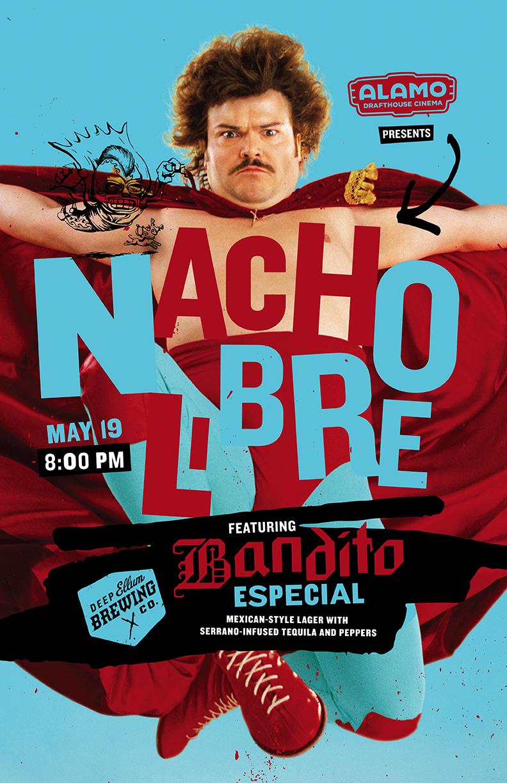 Hopped Up Cinema Nacho Libre With Deep Ellum Brewing Co