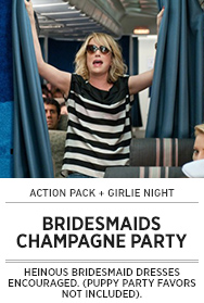 Poster: BRIDESMAIDS Champagne Party - 2015 upload