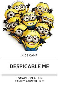 Poster: Kids Camp DESPICABLE ME - 2015 upload