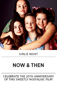 Poster: Girlie NIght NOW AND THEN - 2015 upload