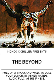 Poster: Mondo x Chiller THE BEYOND - 2015 upload