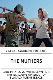 Poster: Vinegar Syndrome THE MUTHERS - 2015 upload