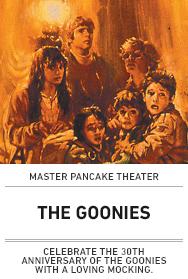 Poster: Master Pancake - The Goonies
