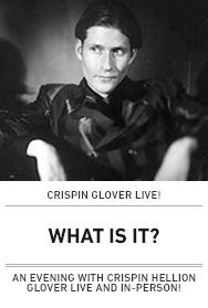 Poster: Crispin Glover 2